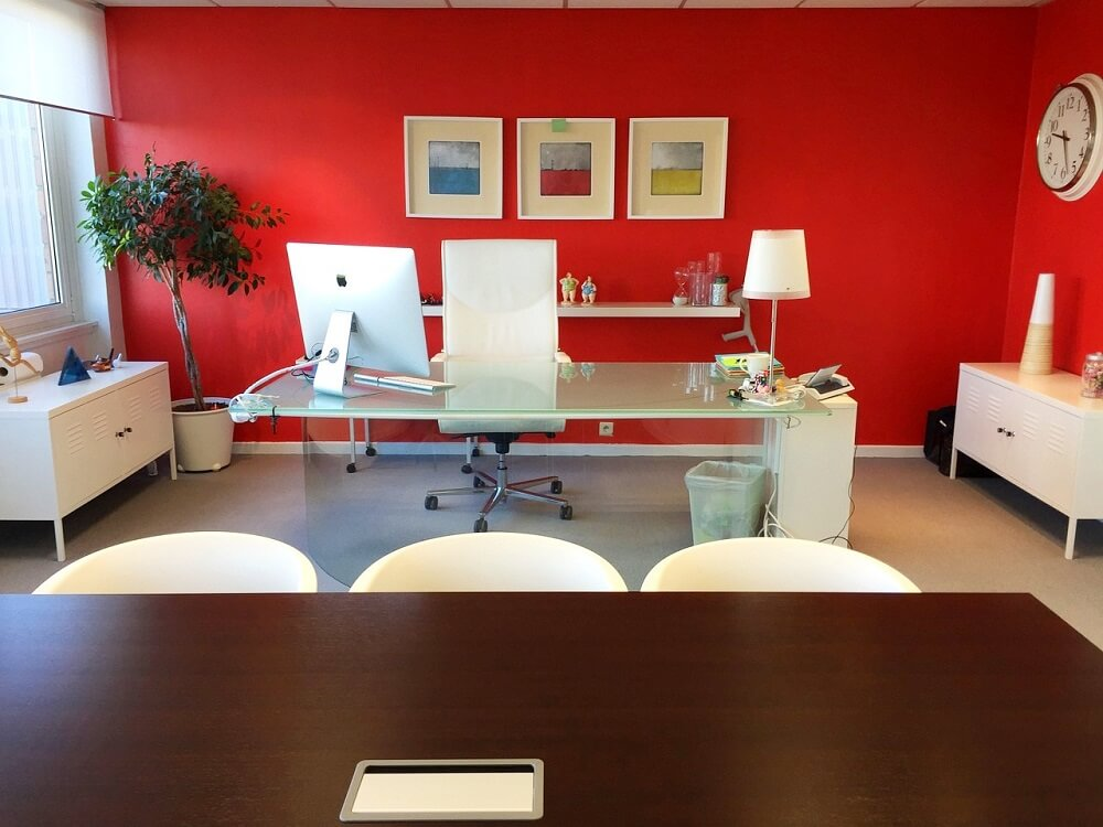 Colours in offices